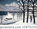 故鄉的雪景 37875234