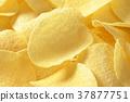 Salted potato crisps 37877751