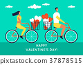 background, bicycle, cartoon 37878515