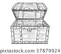 胸部 木製 寶藏 37879924