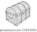 胸部 木製 寶藏 37879945