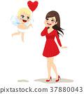 Cupid Delivering Love 37880043