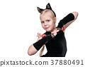 Cat costume for girl 37880491
