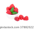 Raspberry isolated on white background 37882022