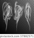 smoke, realistic, set 37882571