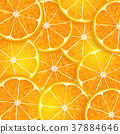 background consisting of orange slices 37884646