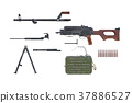 Rifle army disassembled view 37886527
