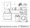 cupboard, bathroom, laundry 37886817