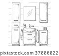 cupboard, bathroom, laundry 37886822