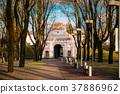 Parnu, Estonia. View Of Tallinn Gate Is Historical 37886962