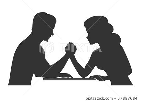 Man vs woman 37887684