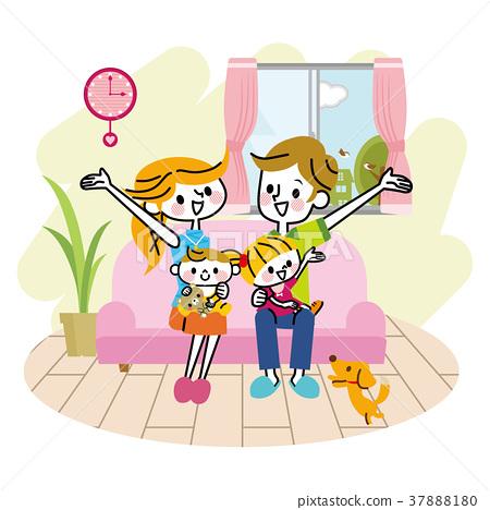 家庭沙發生活 37888180
