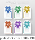 colorful infographic design 37889198