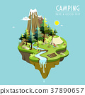 camping concept 37890657