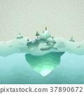 iceberg scenery 37890672