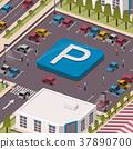 parking lot concept 37890700