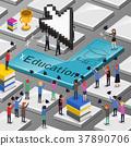 online education concept 37890706
