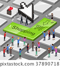 online shopping concept 37890718