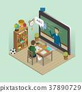 online education concept 37890729