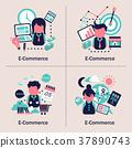 e-commerce concept design 37890743