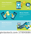 mobile payments concept 37890886