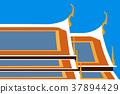 Temple in vector 37894429