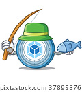 fishing, fish, coin 37895876