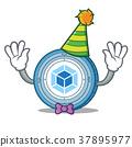 Clown webpack coin mascot cartoon 37895977