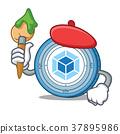 Artist webpack coin character cartoon 37895986