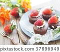 蛋糕 巧克力蛋糕 紙杯蛋糕 37896949