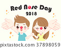 children with red nose day 37898059