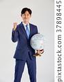 글로벌, 비지니스, 사업가 37898445