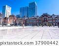 도시, 시티, 고층 빌딩 37900442