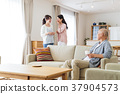 가족 부모와 자식 미들 라이프 스타일 캐주얼 37904573
