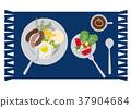 荷包蛋 蛋 雞蛋準備的實物 37904684
