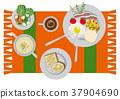 荷包蛋 蛋 雞蛋準備的實物 37904690