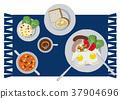 荷包蛋 蛋 雞蛋準備的實物 37904696