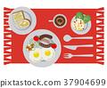 荷包蛋 蛋 雞蛋準備的實物 37904699