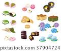 wagashi japanese confectionery 37904724