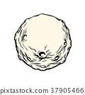 月亮 月 小行星 37905466