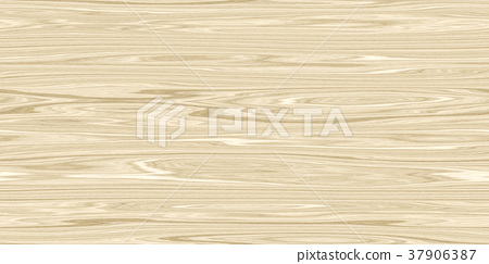 Vibrant detailed wood surface closeup material texture background, top view (seamless connection, high resolution 3D CG rendering ∕ coloring illustration) 37906387