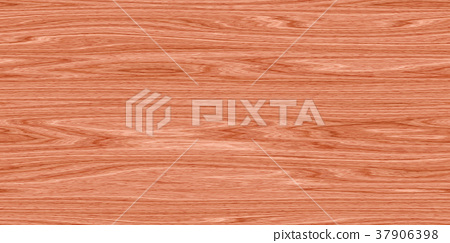 Vibrant detailed wood surface closeup material texture background, top view (seamless connection, high resolution 3D CG rendering ∕ coloring illustration) 37906398