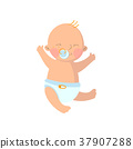 vector, cartoon, child 37907288