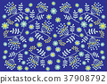 矢量 圖案 植物 37908792