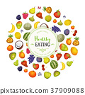 Healthy Eating With Fruits Background 37909088
