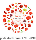 Healthy Eating And Tomatoes Background 37909090