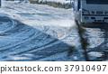 겨울 눈 37910497