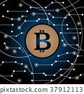 bitcoin background bit 37912113