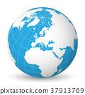 globe, earth, vector 37913769