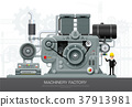 Industrial machine Factory construction equipment 37913981